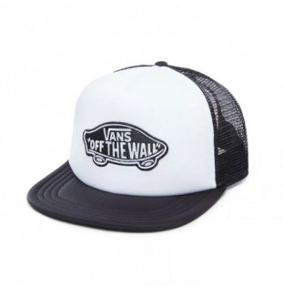 Gorra Vans: MN CLASSIC PATCH TRUCKER (WHITE BLACK) Vans - 1