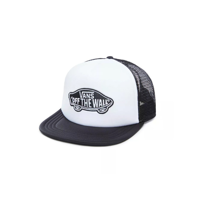 Gorra Vans: MN CLASSIC PATCH TRUCKER (WHITE BLACK)
