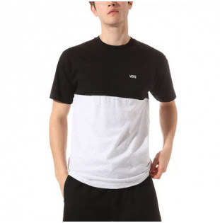 Camiseta Vans: MN COLORBLOCK TEE (ASH HEATHER BLACK)
