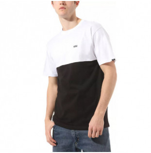 Camiseta Vans: MN COLORBLOCK TEE (BLACK WHITE)
