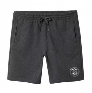 Bermuda Vans: MN OG CHECKER FLEECE SHORT (BLACK HEATHER) Vans - 1