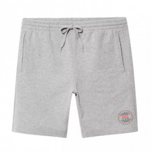 Bermuda Vans: MN OG CHECKER FLEECE SHORT (CEMENT HEATHER) Vans - 1
