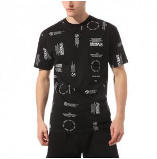 Camiseta Vans: MN DISTORTION ALLOVE (BLACK)