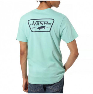 Camiseta Vans: MN FULL PATCH BACK S (DUSTY JADE GREE)