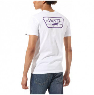 Camiseta Vans: MN FULL PATCH BACK S (WHITE HELIOTROP) Vans - 1