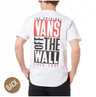 Camiseta Vans: MN NEW STAX SS (WHITE)