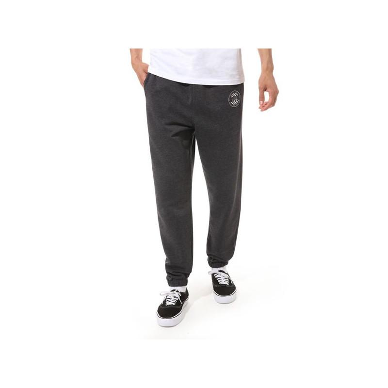 Pantalón Vans: MN OG CHECKER FLEECE PANT (BLACK HEATHER)