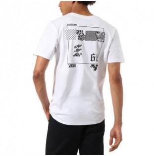 Camiseta Vans: MN VINTAGE V66 SS (WHITE)
