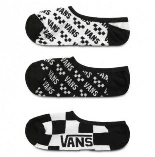 Calcetines Vans: WM BRAND STRIP CAN 65 A 10 PACK 3 (MULTI)