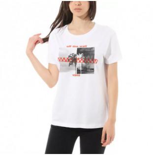 Camiseta Vans: WM HIGHLIGHTER (WHITE) Vans - 1