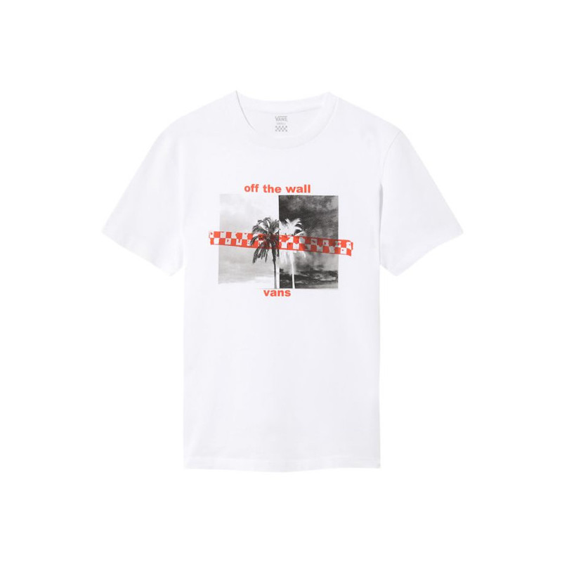 Camiseta Vans: WM HIGHLIGHTER (WHITE)