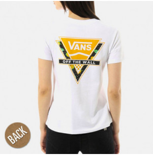 Camiseta Vans: WM POLKA DITSY TRIAN (WHITE)