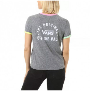 Camiseta Vans: WM RALLY BELL (GREY HEATHER FU) Vans - 1