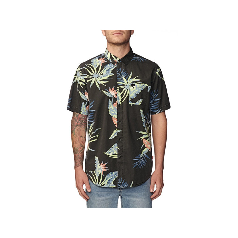 Camisa Globe: PARADISE FOUND SS SHIRT (BLACK)