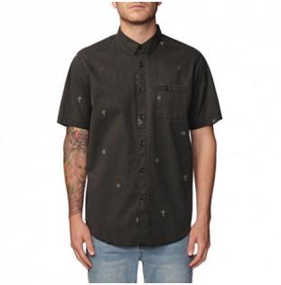 Camisa Globe: NEON DREAMS SS SHIRT (WASHED BLACK)