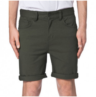 Bermuda Globe: GOODSTOCK DENIM WALKSHORT (BLACK)