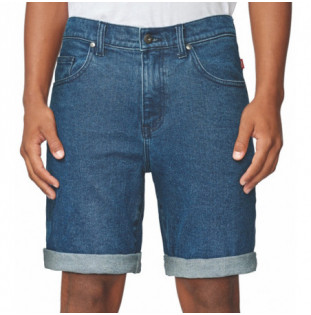 Bermuda Globe: FRENZY DENIM SHORT (DEEP INDIGO)