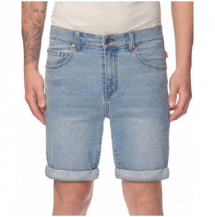 Bermuda Globe: FRENZY DENIM SHORT (PACIFIC BLUE)