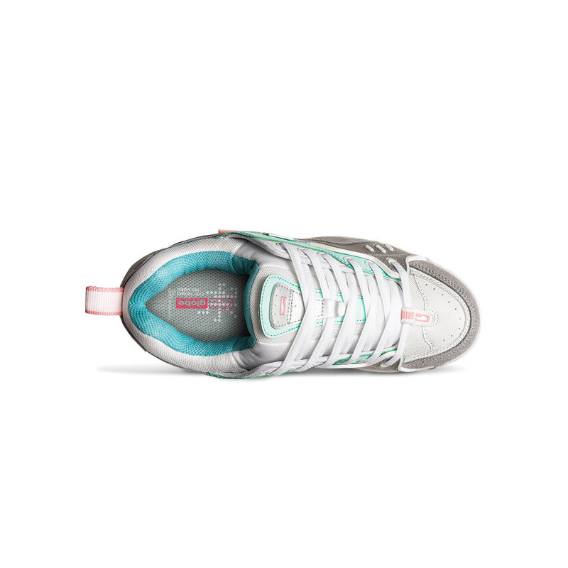 Zapatillas Globe: CT IV CLASSIC (WHITE SILVER MINT)