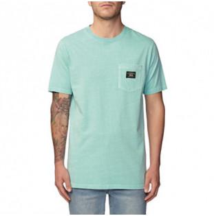 Camiseta Globe: BASE POCKET TEE (WASHED MINT)