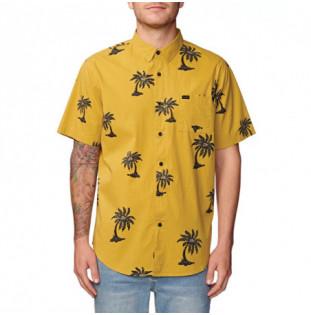 Camisa Globe: COCO LOCO SS SHIRT (SULPHUR)