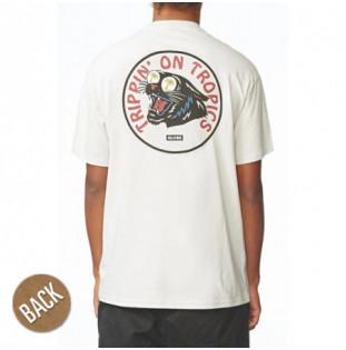 Camiseta Globe: TRIPPIN TEE (PUMICE)