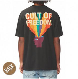 Camiseta Globe: COF TEE (WASHED BLACK)