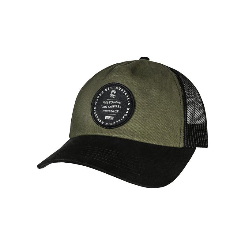 Gorra Globe: ORIGINS TRUCKER (ARMY)