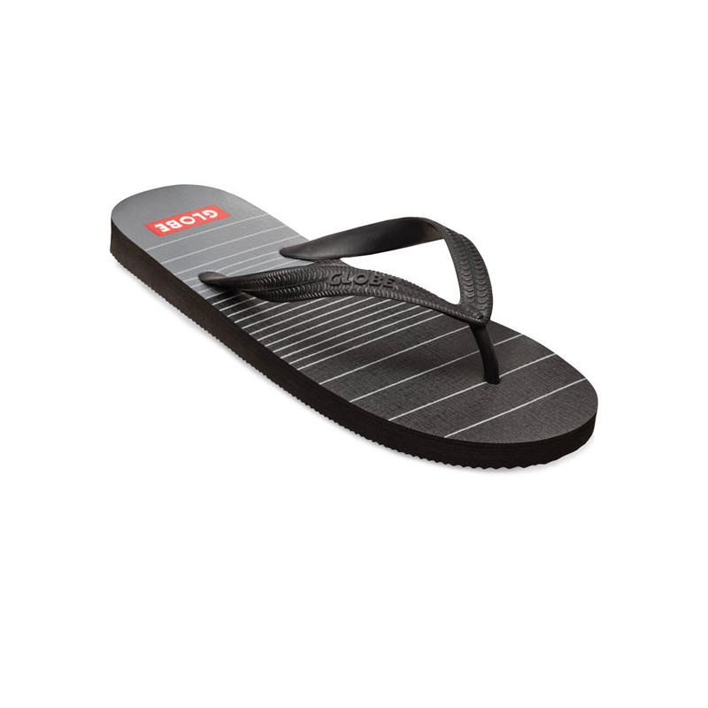 Chanclas Globe: INDIE (BLACK CHARCOAL)