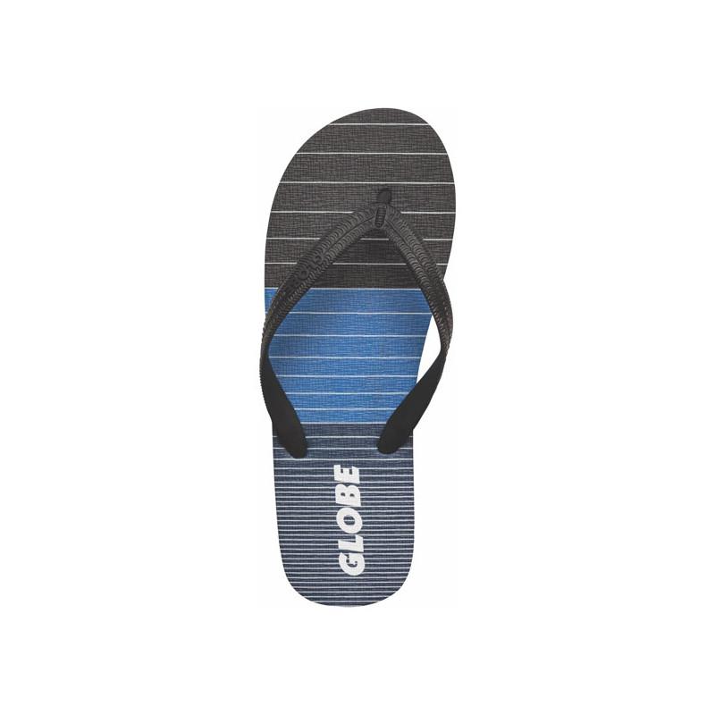 Chanclas Globe: AGGRO (BLACK BLUE GREY)