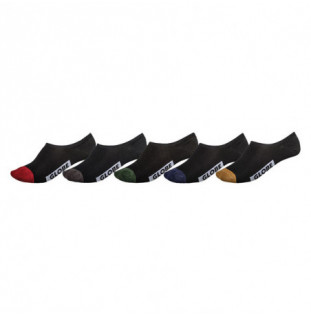 Calcetines Globe: DIP INVISIBLE SOCK 5 PACK (ASSORTED)