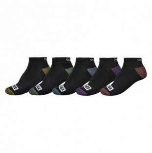 Calcetines Globe: ROMNEY ANKLE SOCK 5 PACK (ASSORTED)