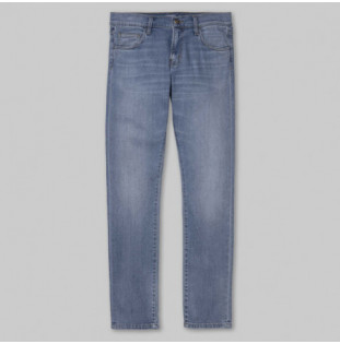 Pantalón Carhartt: REBEL PANT (BLUE WORN BLEACHED)