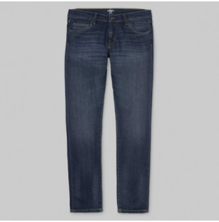 Pantalón Carhartt: REBEL PANT (BLUE DARK WORN WASH)