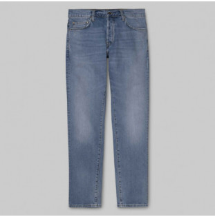 Pantalón Carhartt: KLONDIKE PANT (BLUE WORN BLEACHED)
