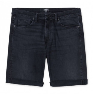 Bermuda Carhartt: SWELL SHORT (BLACK MID WORN WASH) Carhartt - 1