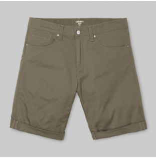 Bermuda Carhartt: SWELL SHORT (LEATHER RINSED)