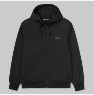 Chaqueta Carhartt: MARSH JACKET (BLACK WHITE)