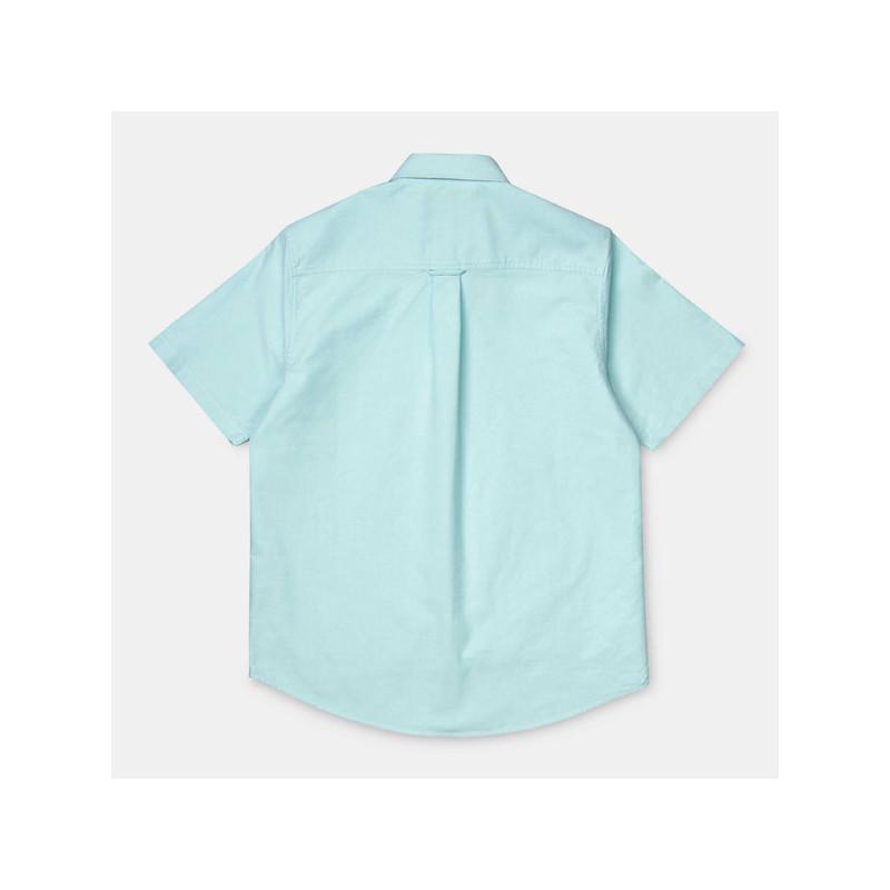 Camisa Carhartt: SS BUTTON DOWN POCKET SHIRT (WINDOW)
