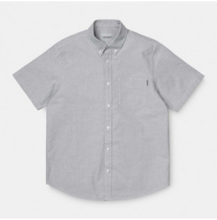 Camisa Carhartt: SS BUTTON DOWN POCKET SHIRT (SHIVER) Carhartt - 1