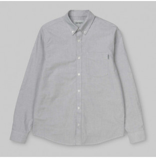 Camisa Carhartt: LS BUTTON DOWN POCKET SHIRT (SHIVER)