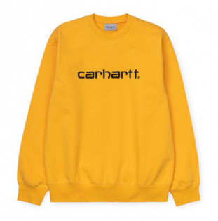 Sudadera Carhartt: CARHARTT SWEAT (SUNFLOWER BLACK)