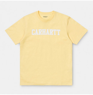 Camiseta Carhartt: SS COLLEGE T SHIRT (FRESCO WHITE)