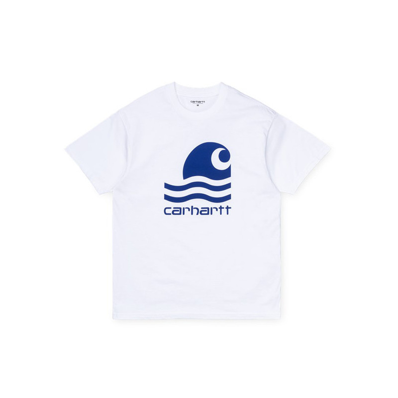 Camiseta Carhartt: SS SWIM T SHIRT (WHITE SUBMARINE)