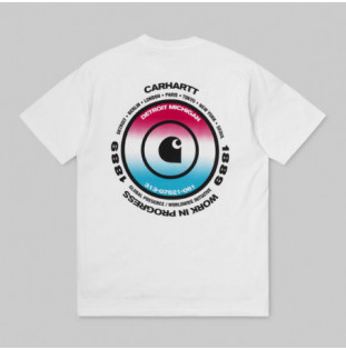 Camiseta Carhartt: SS WORLDWIDE T SHIRT (WHITE)