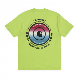 Camiseta Carhartt: SS WORLDWIDE T SHIRT (LIME)