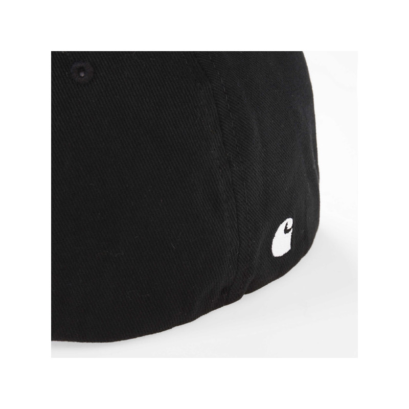 Gorra Carhartt: SCRIPT CAP (BLACK WHITE)