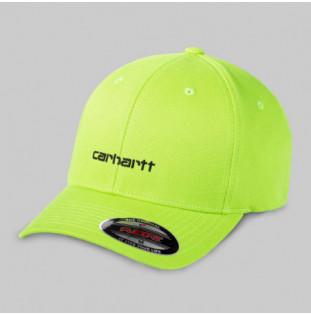 Gorra Carhartt: SCRIPT CAP (LIME BLACK) Carhartt - 1