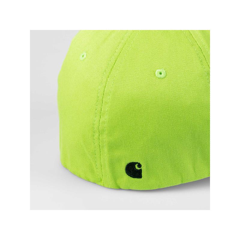 Gorra Carhartt: SCRIPT CAP (LIME BLACK)