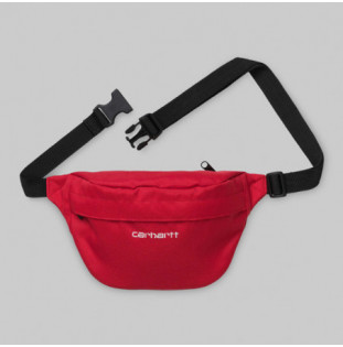Riñonera Carhartt: PAYTON HIP BAG (ETNA RED WHITE)